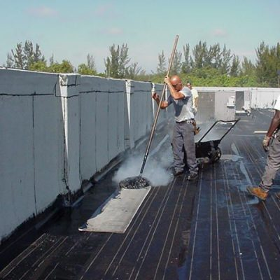 commercial re roofing