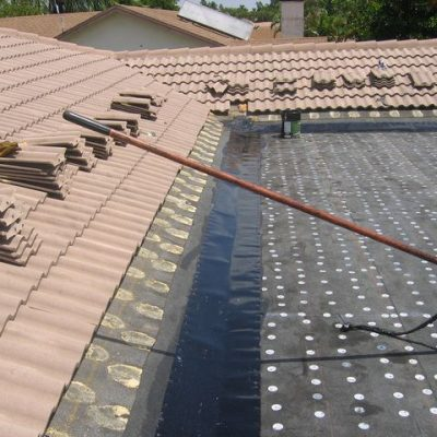 residential roof replacement