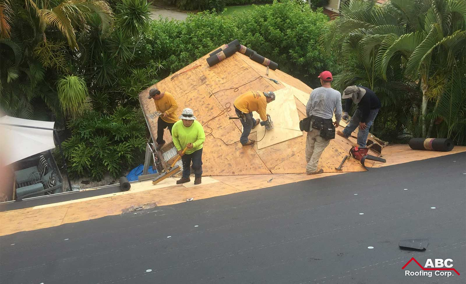 home re roofing
