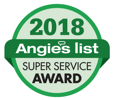 Angies List 2018 Super Service Award