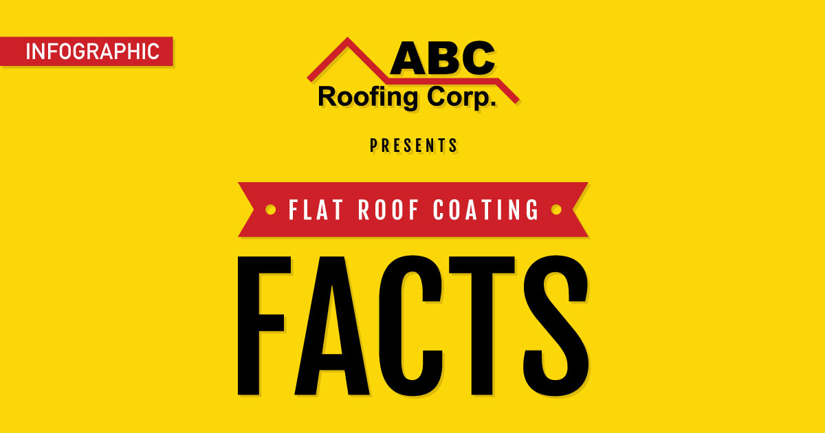flat roof coating facts