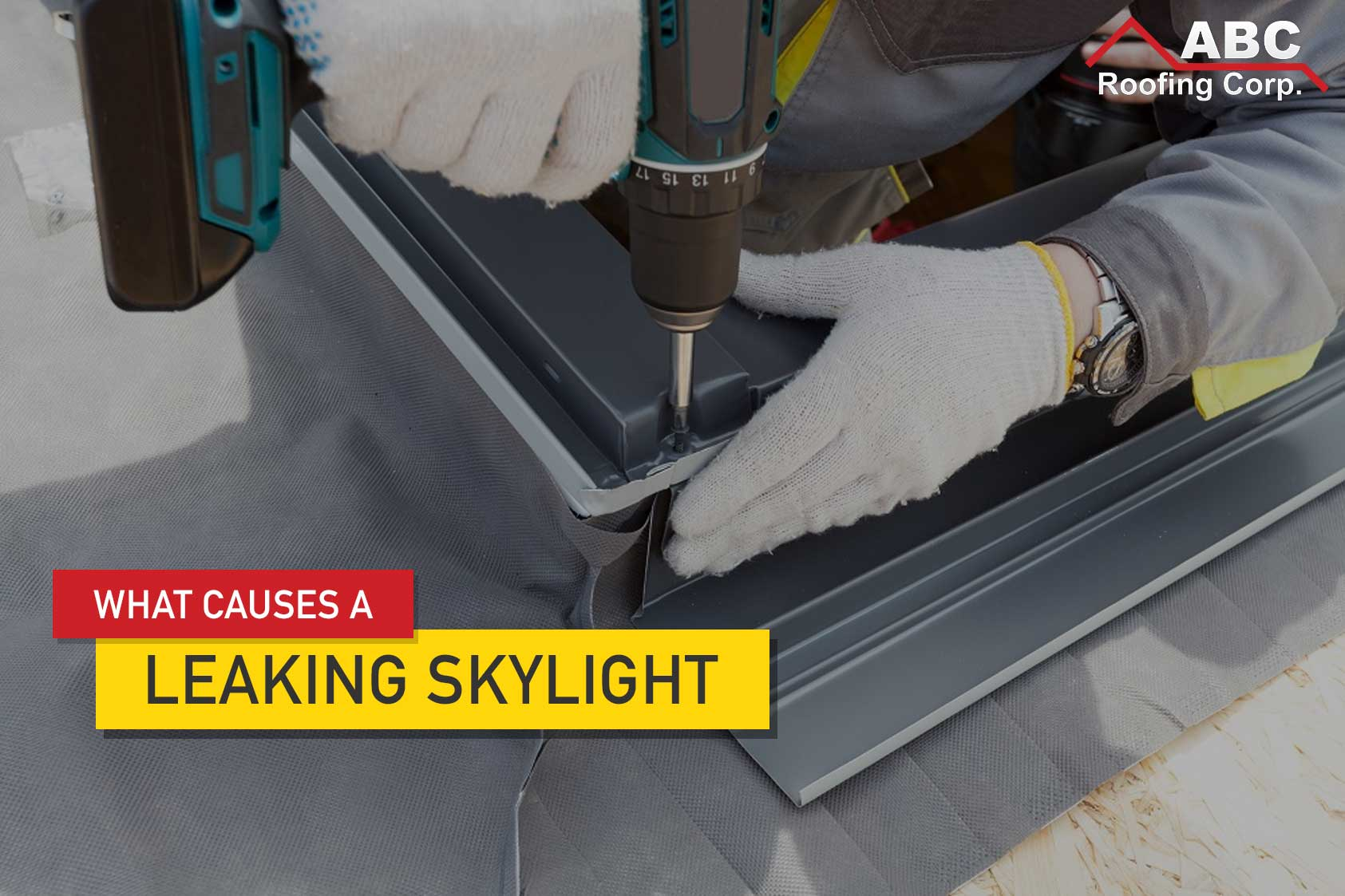 Leaking Skylight
