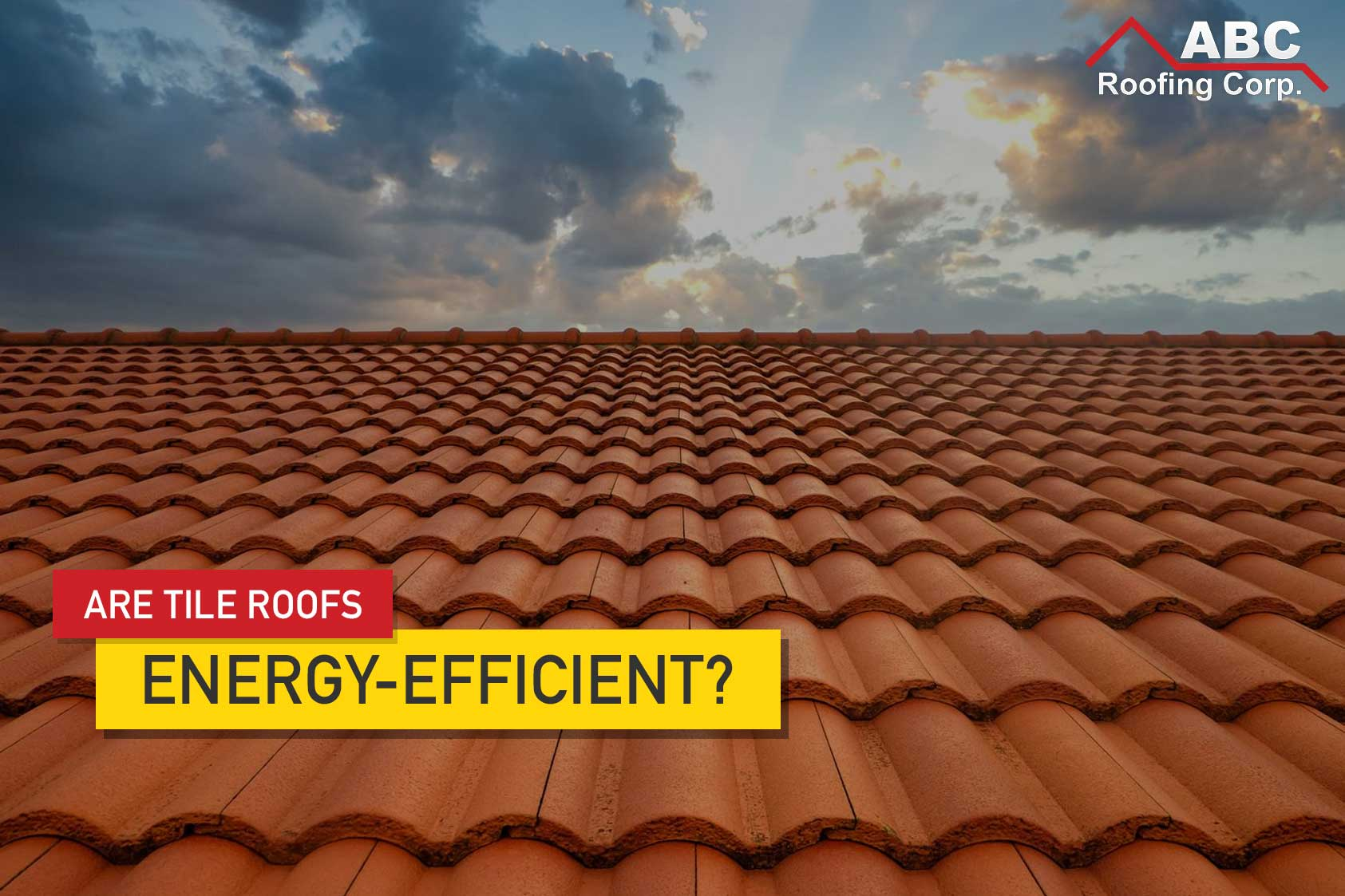 Tile Roofs Energy-Efficient