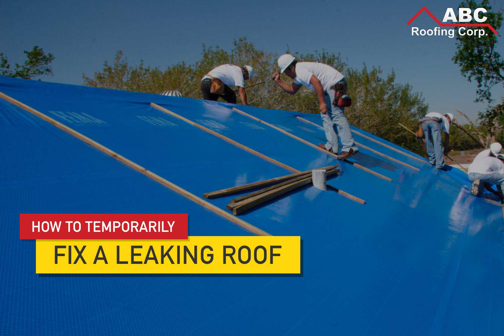 Fix A Leaking Roof