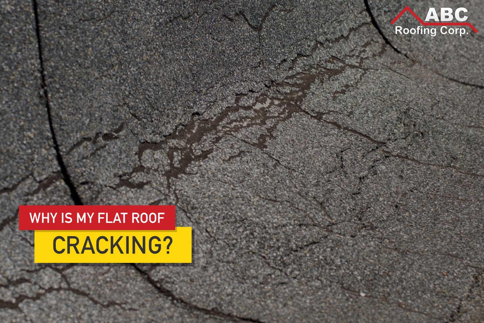 Flat Roof Cracking