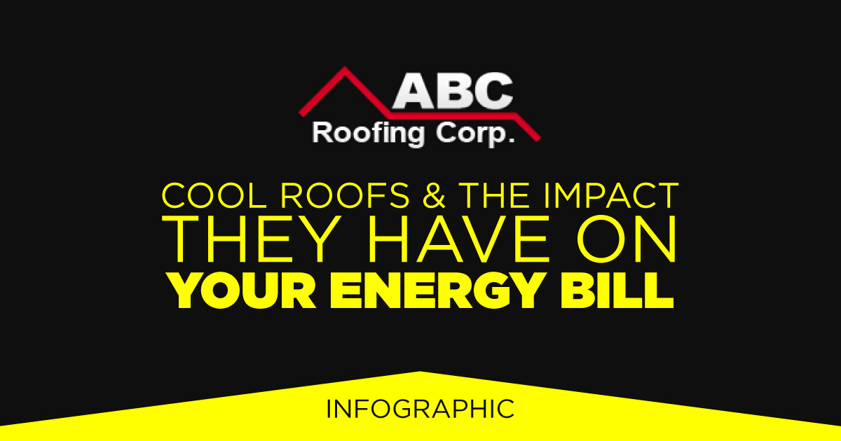 Cool Roofs & The Impact They Have On Your Energy Bill