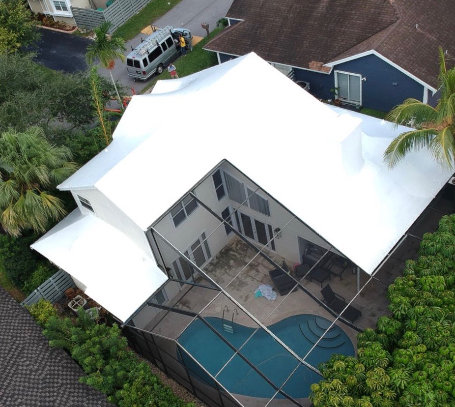 wrap roof residential